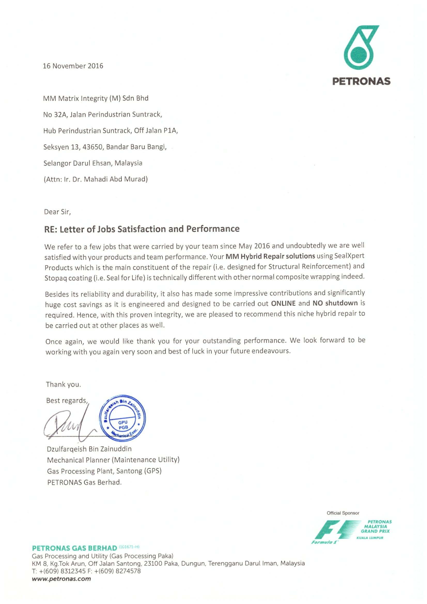 License Certification Letter Letter Certification