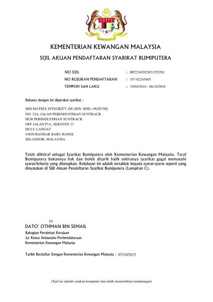 MMMI MOF Bumiputera Certificate new-1