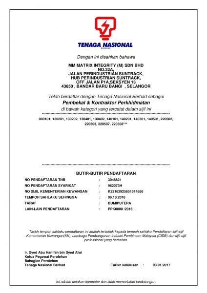 TNB Certificate New-1